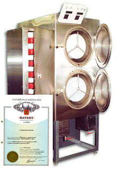 Принцип работы жарочных шкафов для сушки подсолнечника